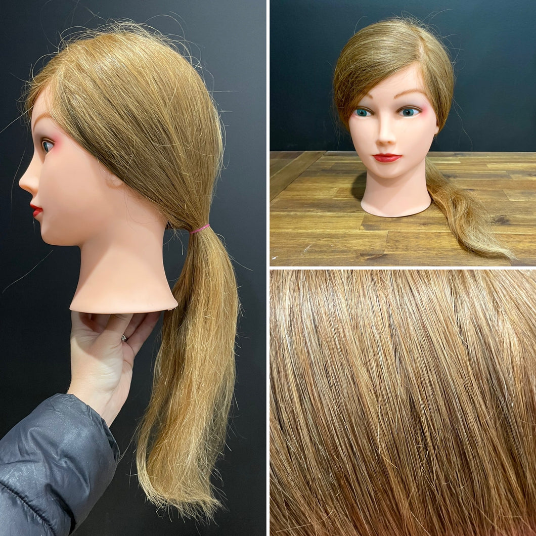 Manniquin Long - Medium Hair 100% Human hair for training