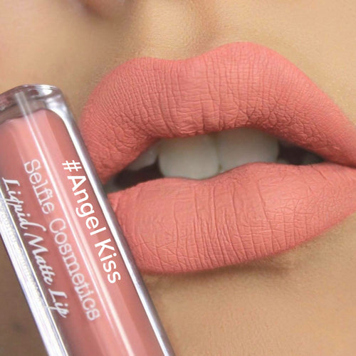 #Angel Kiss Selfie Cosmetics Matte Liquid Lipstick