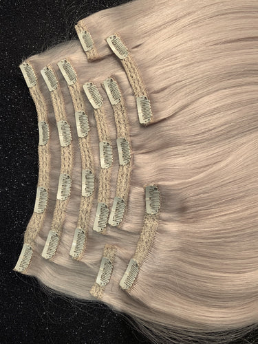 Fasthair 9 piece 320gram Clip in Human Hair.