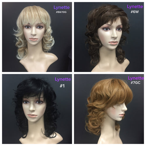 Wig Synthetic Lynette