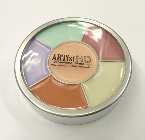 Concealer and Corrector Wheel ARTistHD makeup
