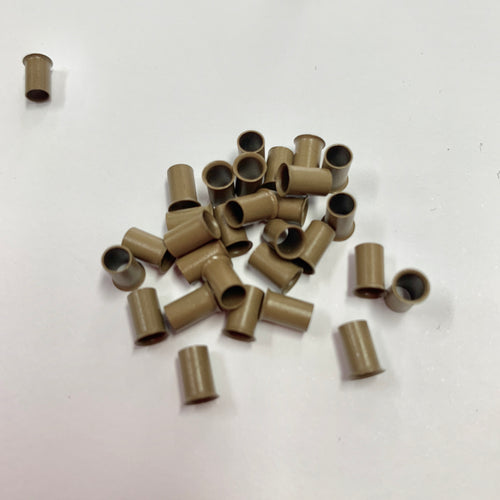 Micro link copper flare bell beads 1000piece