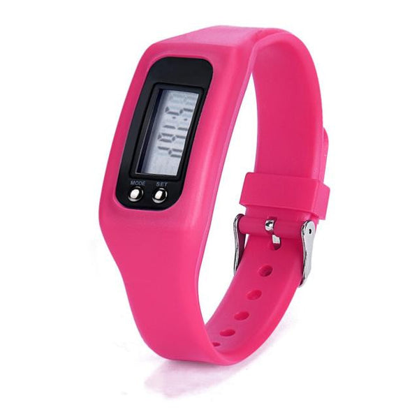 2017 Hot Sale Digital LCD Fitness Tracker Wrist  Pedometer Run Step Walking Distance Calorie Counter Bracelet wholesale YHWQ