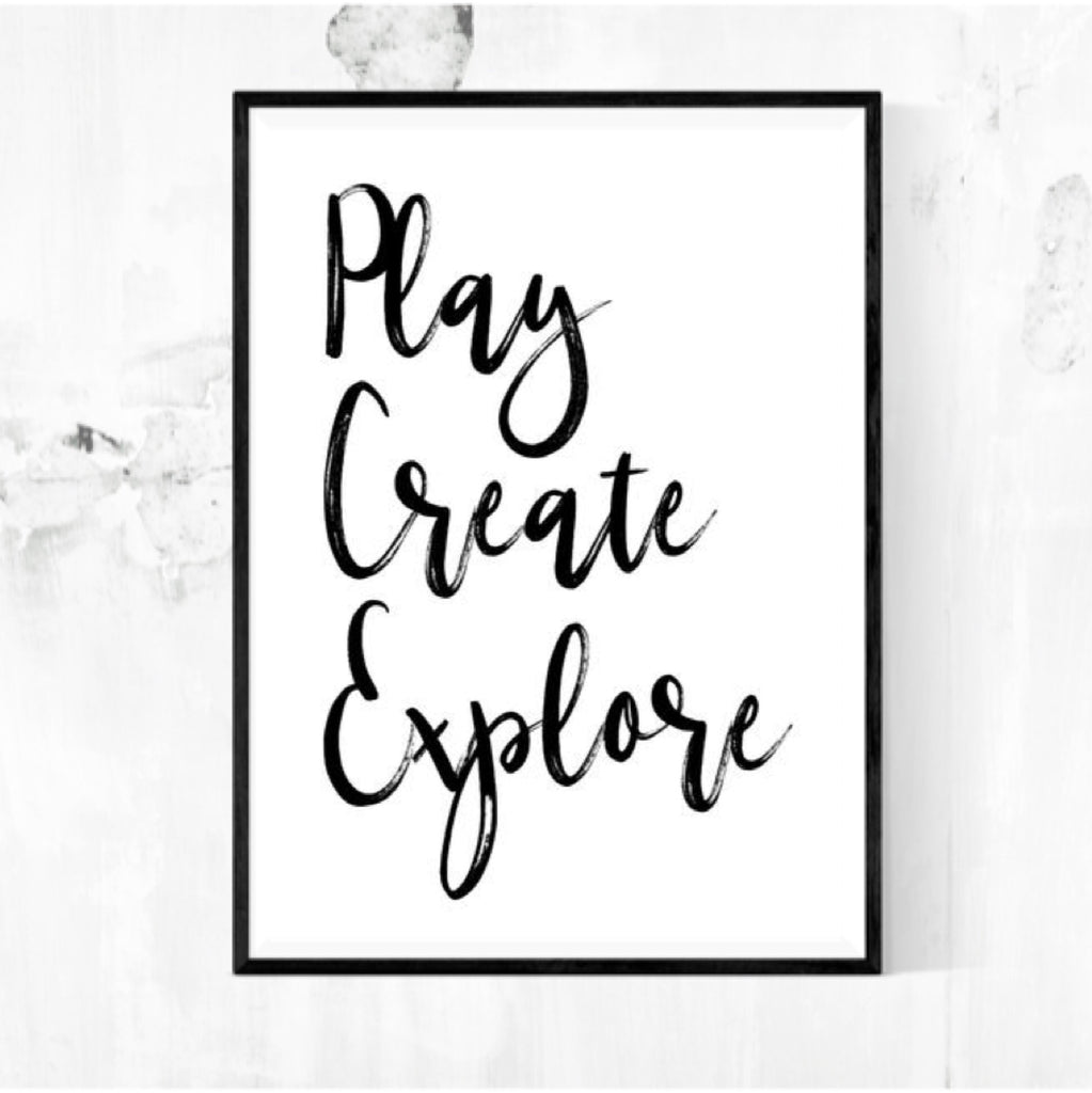 Play, Create, Explore