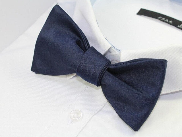 GUSLESON Fashion Silk Bow Tie