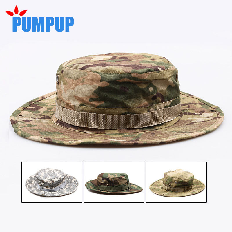PUMPUP Tactical Camo Boonie Hat