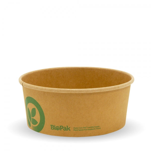 750ML MEDIUM KRAFT BIOBOWL