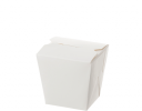 White Noodle Box's No Handle (Sml, Med, Lge, X,lge)