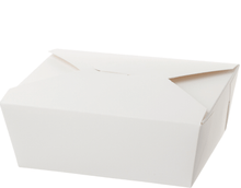 White Food Box