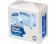 Load image into Gallery viewer, Castaway 2 ply Dinner Napkins - Quarter Fold