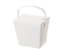 Load image into Gallery viewer, White Noodle Box with Handle