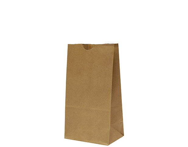 Paper Takeaway SOS Bags (Brown)