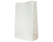 Load image into Gallery viewer, Paper Takeaway SOS Bags (White)