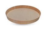 WOODEN VENEER BOX - PLATTER MEDIUM ROUND (5)