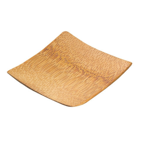 Bamboo Tasting Plate Square X 12