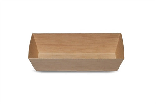 WOODEN VENEER BOX - RECTANGLE LGE