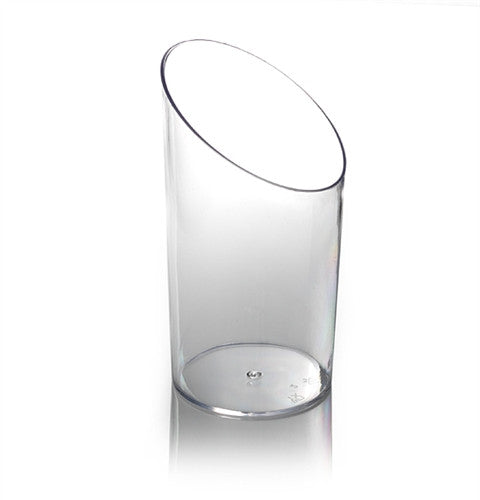 VASCELLO TILT SHOT GLASS - CLEAR (20)