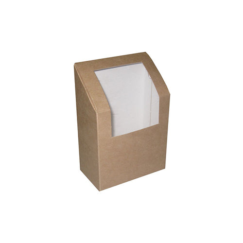Kraft Window Wrap Box