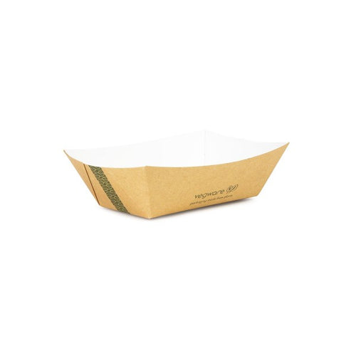 Compostable Kraft Food Tray - 250ml