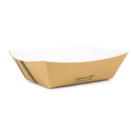 Compostable Kraft Food Tray - 700ml