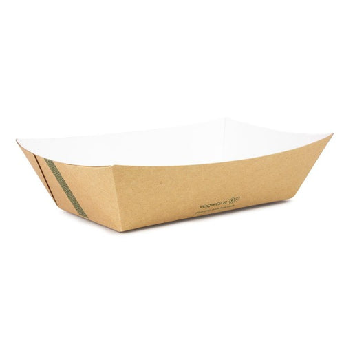 Compostable Kraft Food Tray - 1000ml