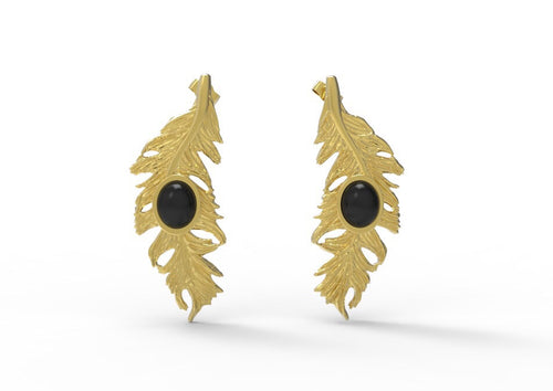 Aretes Feather