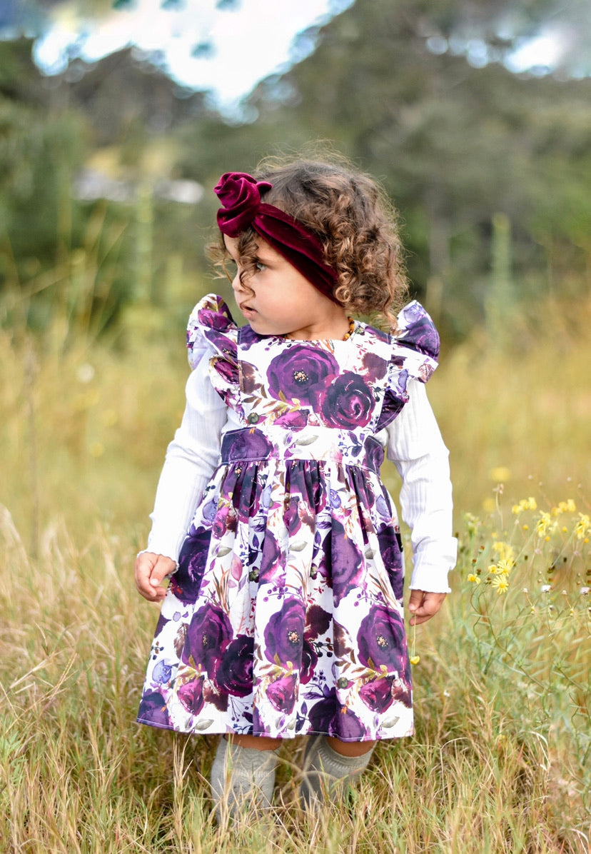 Sofia Polly Pinafore Dress