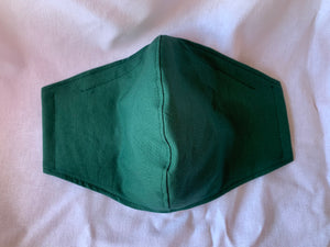 Medium 2 layer face covering