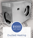 Ducted Gas Heater Cash Back Rebate