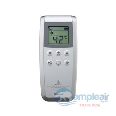 Rinnai Infinity Touch 26 Continuous Flow Hot Water - INF26TN50M Natural Gas