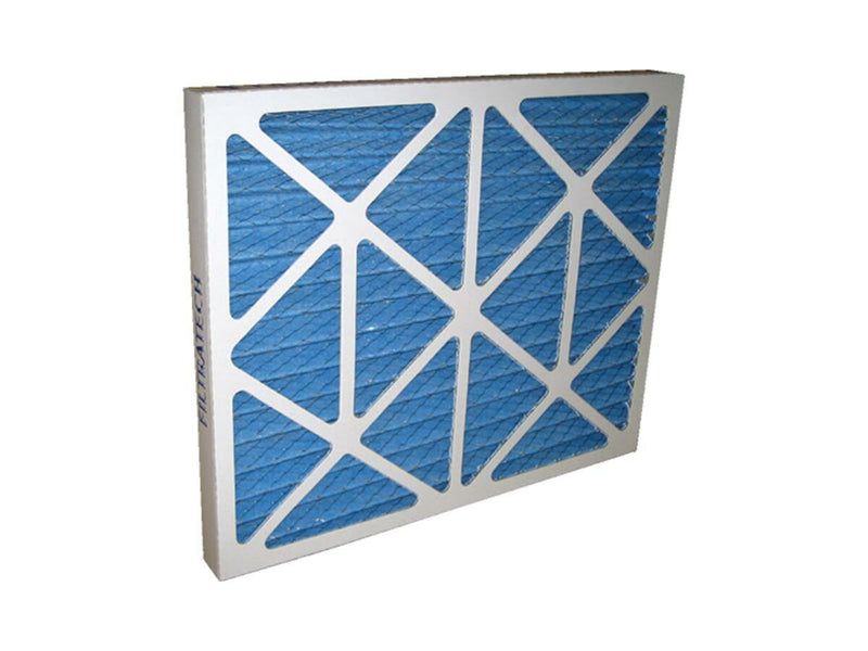 Ducted disposable air filter
