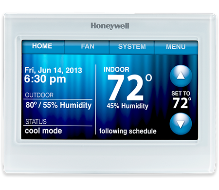 Honeywell Wi-Fi 9000 7-Day Programmable Thermostat
