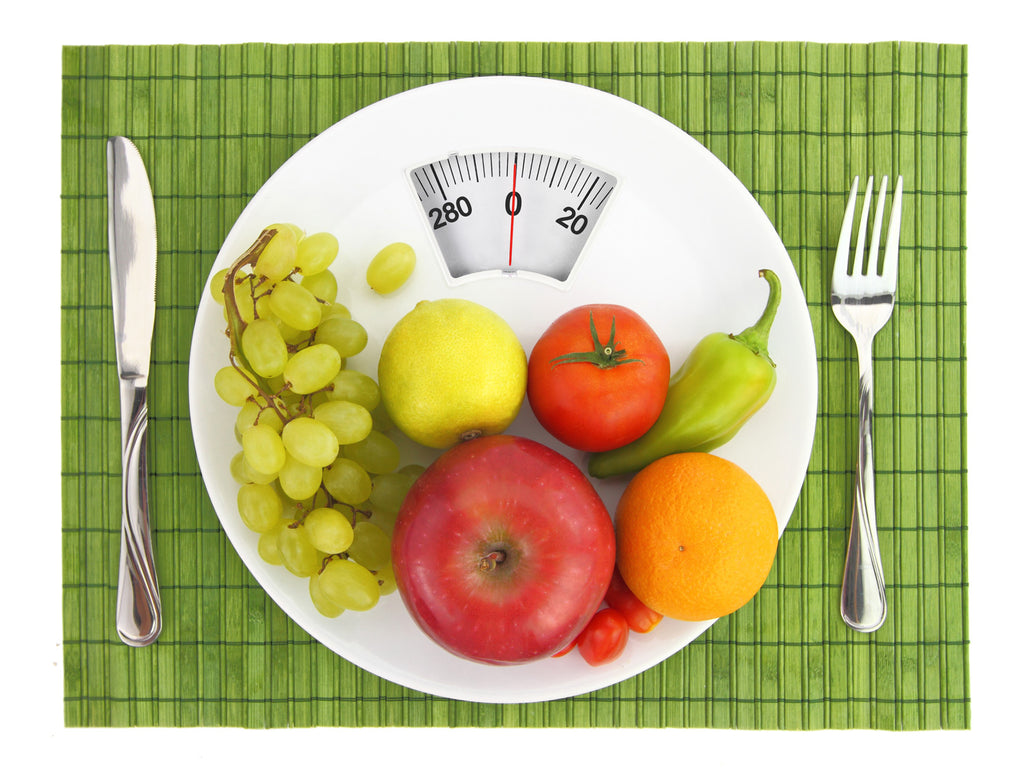 A balanced diet can help with weight loss plateau