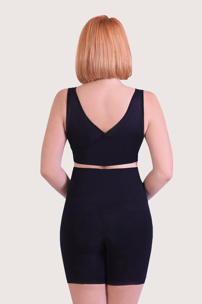 Posture Correcting Shapewear Shorts - Black