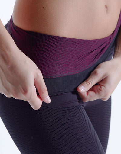 Comfortable compression shorts with a soft, massaging interior to help with blood and lymph fluid circulation.