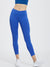 Essential Space dye Electric Blue Full Length Leggings