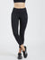 Maxtreme Power me Black Ankle Pocket Leggings