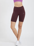 Creeluxe Fierce Burgundy Women's Shorts