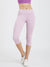 Maxtreme Power me Lavender Pocket Capri Leggings