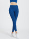 Creeluxe Ultimate Denim Blue Full Length Pocket Leggings