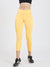 Maxtreme Power me Saffron Yellow Ankle Pockets Leggings