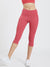 Maxtreme Power me Hippie Pink Pocket Capri Leggings