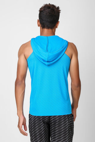 Active Hooded Sleeveless Tshirt