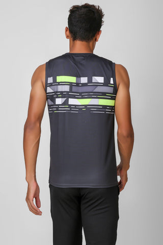 Active Stretchable Sleeveless Tshirt 1