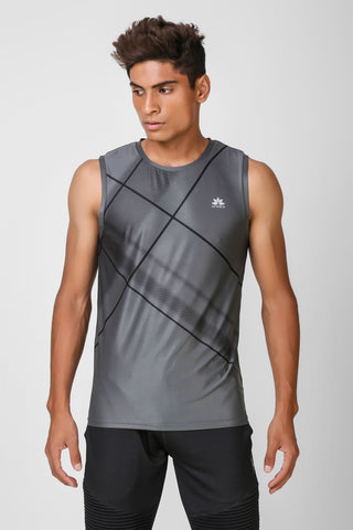 Active Stretchable Sleeveless Tshirt 2