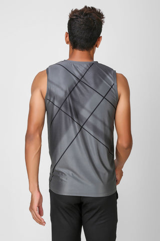 Active Stretchable Sleeveless Tshirt