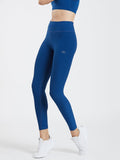 Creeluxe Flatter me Denim Blue Full Length Leggings