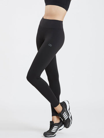 Soft  Black Active Leggings