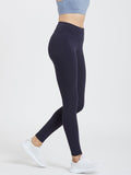Creeluxe Flatter me Navy Blue Full Length Leggings
