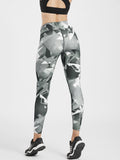 Creeluxe Flatter me Geometrical Printed Full Length Leggings